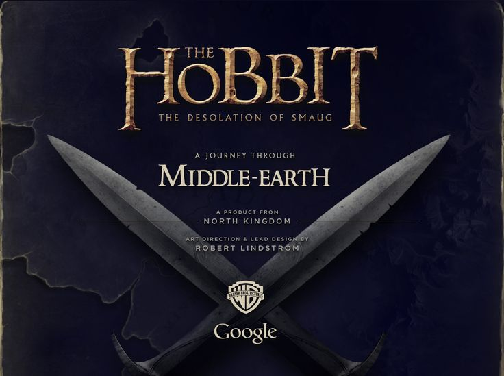 The Hobbit - A journey through Middle-Earth on Behance