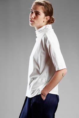 Ma'ry'ya | hip-length t-shirt in cotton jersey | #maryya