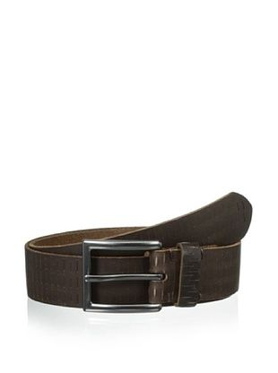 58% OFF Marc New York Men's Cut Out Perforated Belt (Brown)