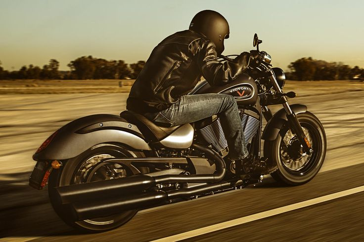 The Victory Gunner. Slammed seat, precise ride, real power. See how Victory delivers bobber styling you can use on February 8th #bobber #victory #motorcycles