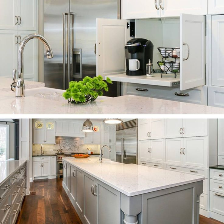 Lovely, White Kitchen By Silestone Cabinetsanddesigns.net