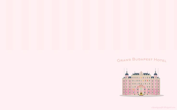 Grand Budapest Hotel wallpaper. More sizes on www.wheninjungle.blogspot.com