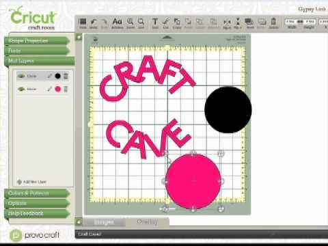 Cricut Craft Room tutorial video