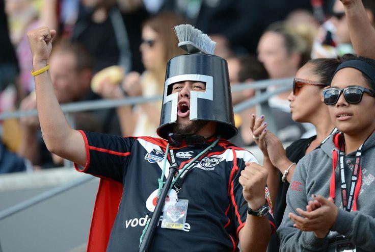 @cookislandkiwi #Warriors #Dressup #Fan