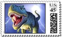 dinosaur stamps