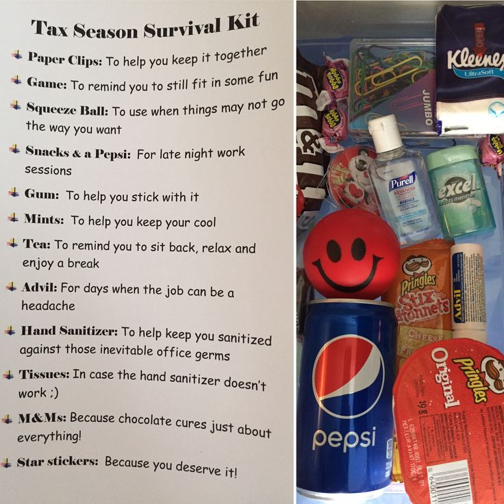 Office / Tax Season Survival Kit