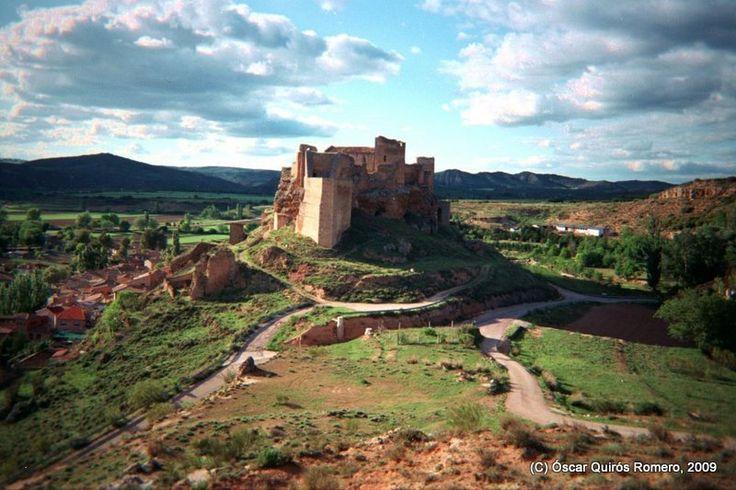 El majestuoso Castillo árabe de Zorita de los Canes.