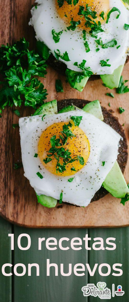 Amarás estas 10 recetas para preparar huevos y desayunar delicioso.