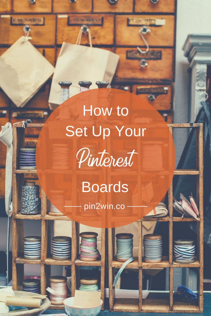 This Pinterest guide takes you step-by-step through setting up Pinterest boards. You'll learn about Pinterest board types, how/where to use keywords on your Pinterest boards & much more. Pinterest Help   Pinterest Marketing Tips Small Businesses   For more great Pinterest tips and Pinterest marketing guides on how to use Pinterest for business, visit https://pin2win.co.