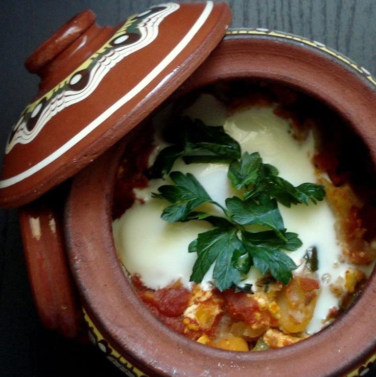 Guveche/Vegetables cooked in clay pot   Bulgarian/Balkan ...