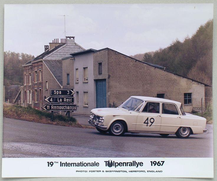 Tulpen Rally 1967 Bij Spa