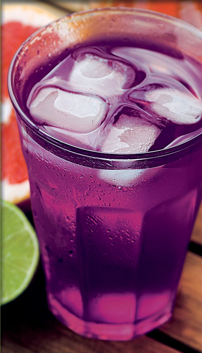 Sparkling Grape Lemonade