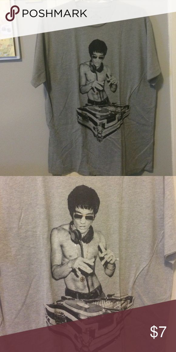 Bruce Lee DJ shirt Like EDM and Bruce Lee? Then this is the shirt for you! Arrow Shirts Tees - Short Sleeve