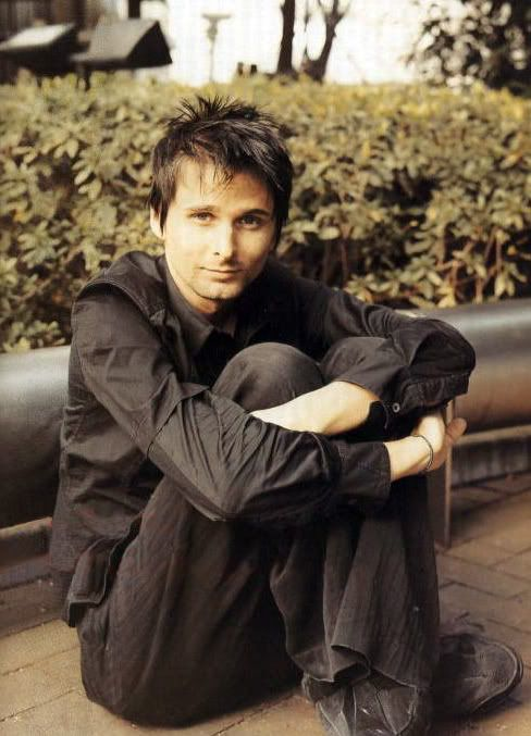 #MatthewBellamy I love this photo. His so cute I just want to eat him up.. Truly talent artist, I am glad be apart of this time to witness how amazing the band Muse truly is.