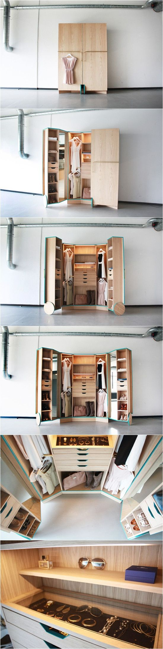 The standard wardrobe a depth of 60 cm