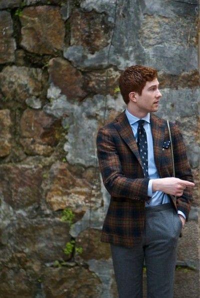 Redhead mens jacket