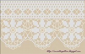 Cross Stitch lace (more on blog) - free