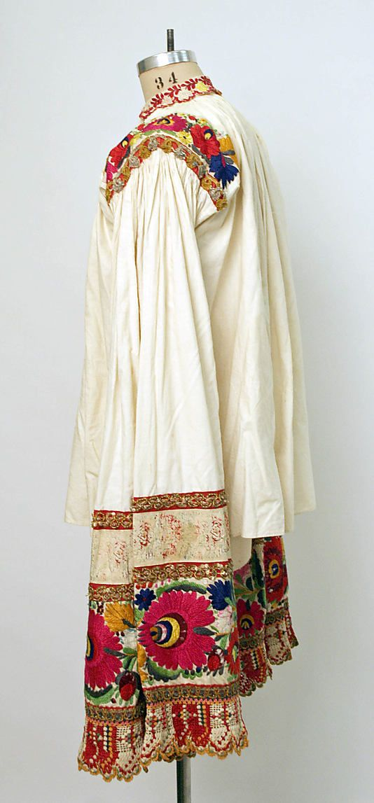 hungarian blouse 1815