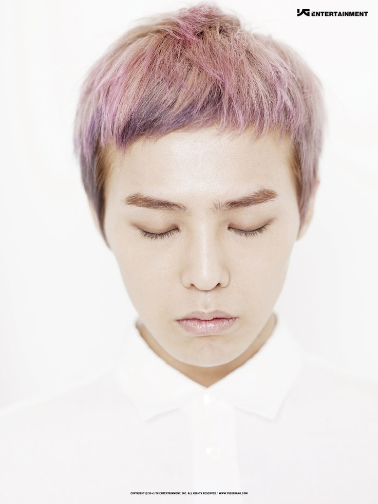 G dragon crooked hair tutorial