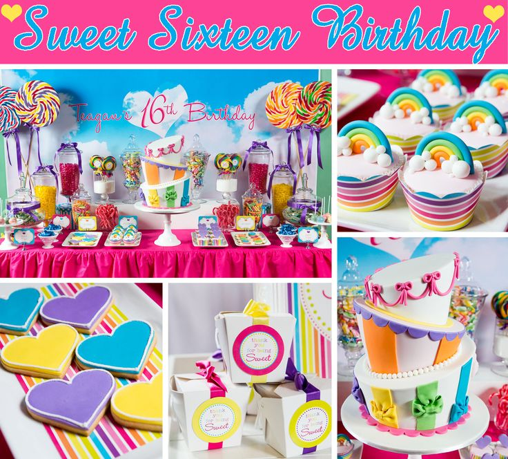 98 Best Images About Sweet 16 Party Ideas On Pinterest