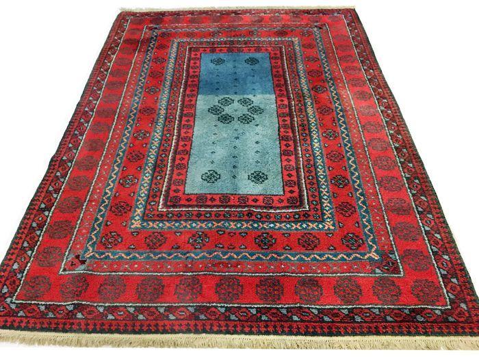 Online veilinghuis Catawiki: Marokkaanse berber tapijt 290x205 cm. circa 1970 - DECORATIEF