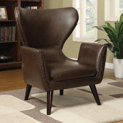 Coaster Furniture Cupertino Wingback Accent Chair - 902089