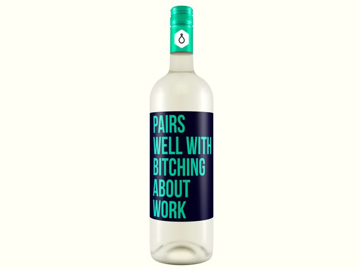 26 Wine Labels That Have No Time For Your Crap | VinePair