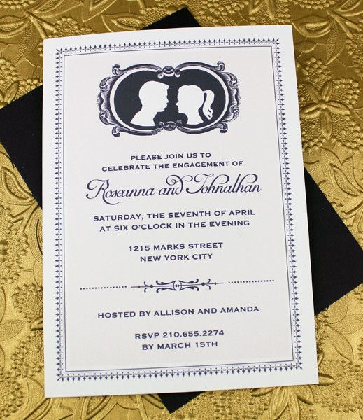 132 best Invitations images on Pinterest Weddings, Invitation - engagement party templates
