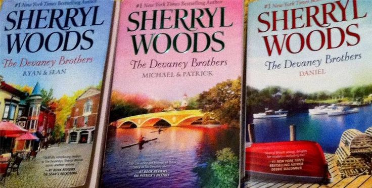 """Lot of 3 Sherryl Woods """"The Devaney Brothers"""" Paperback-Total of 5 Novels"""