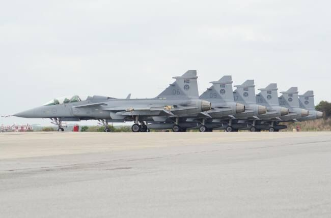 South African Air Force Gripens