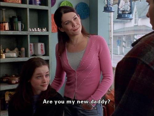 Gilmore Girls. Hahahahaha. Great episode.
