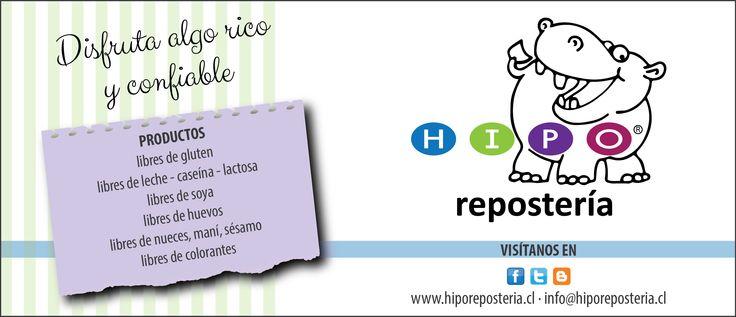 Somos HIPO repostería, elaboramos productos de repostería para personas con alergias, intolerancias y restricciones alimentarias.