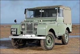 The original Land Rover designed by Maurice Wilks, 1948
