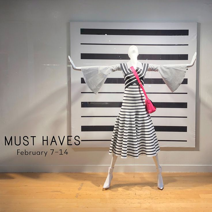 """NEIMAN MARCUS, Houston, Texas, """"Stay calm, don't panic... Spring is on its way"""", pinned by Ton van der Veer"""