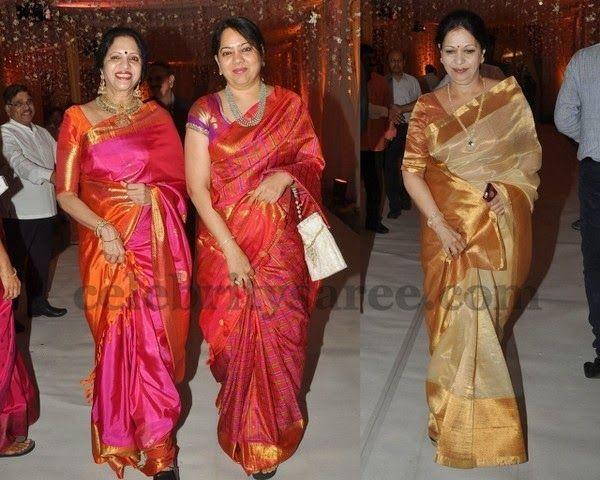 Bridal Sarees in Chanderi Kanchi Silk | Saree Blouse Patterns