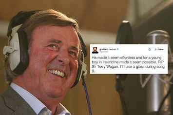 "People Are Paying Tribute To Terry Wogan And Saying ""Good Riddance"" To January 2016"