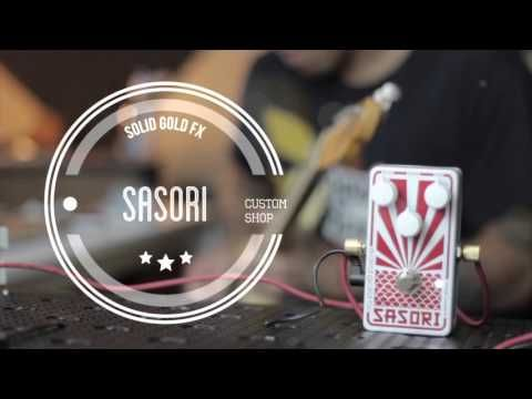 SolidGoldFX Sasori - Custom Shop Cosmic White feat. R.J. Ronquillo