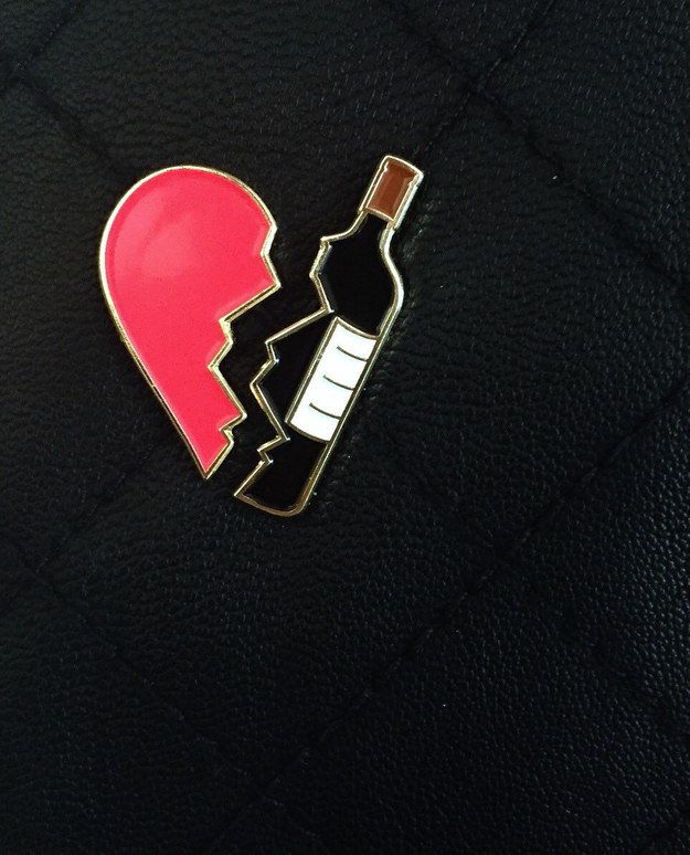 This set, to demonstrate your dedication to your one true love, £11.55. | 21 Cute And Sassy Enamel Pins You'll Want To Buy Immeditately