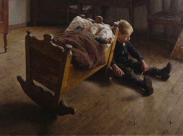 Erik Werenskiold: Two Brothers