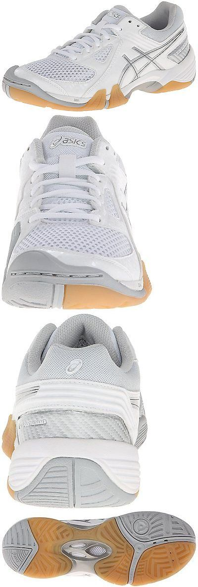 Other Volleyball 2919: Asics Womens Gel Dominion Volley Ball Shoe,White/Silver,6 M Us -> BUY IT NOW ONLY: $58.7 on eBay!