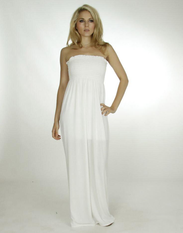 plain 1 Plain white dress to be dynamic style