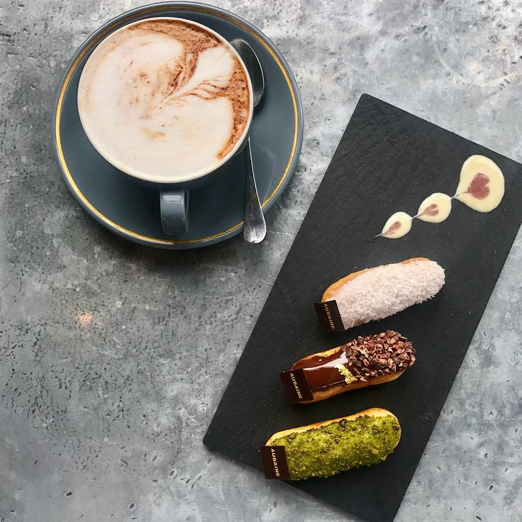 *Exclusive Offer* Enjoy a trio of mini eclairs and a #coffee for just £9.50 at our @Selfridges restaurant.