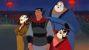*LING, LI SHANG, CHEIN PO & YAO ~ Mulan, 1998
