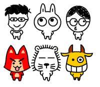 51 Cute little rabbit QQ emoticons download rabbit emoticons rabbit emoji