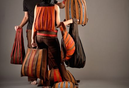 Expanding bags (Bővülő táskák) – by Esztány István http://www.esztanygaleria.eu
