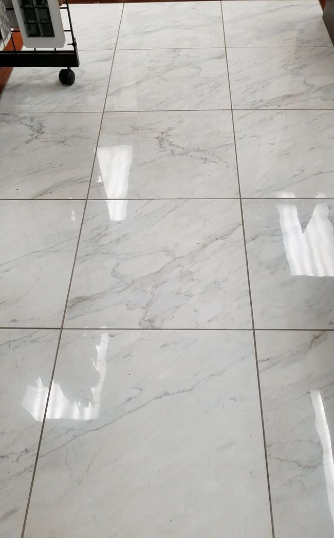 your eyes on marble look porcelain tile