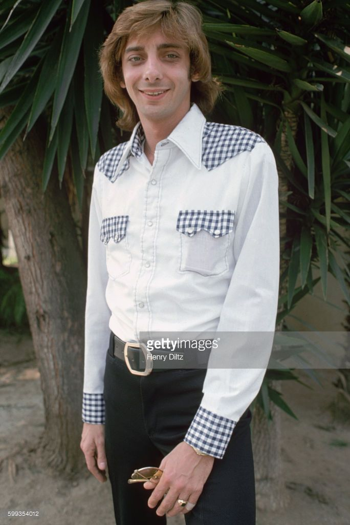 Barry Manilow Smiling