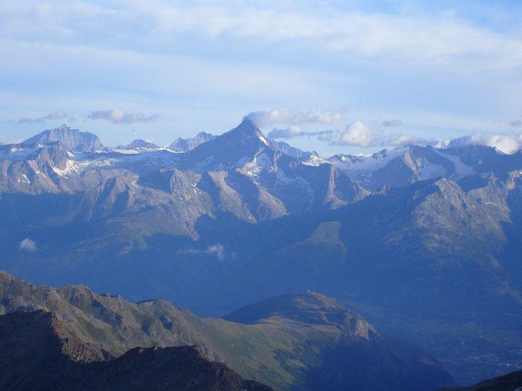 View of Bietschhorn.