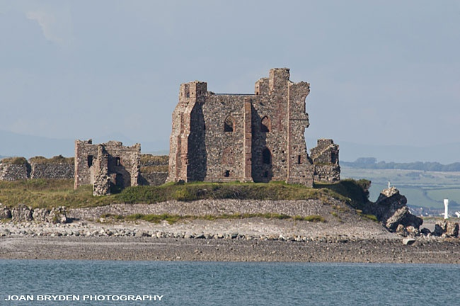 Piel Castle, Piel Island, Barrow in Furness, Cumbria