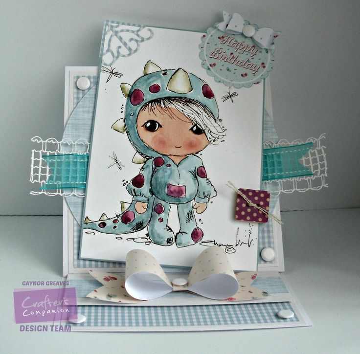 Gaynor Greaves - Scruffy Little Kitten - using Crafter's Inspiration Magazine issue 7 free cd rom